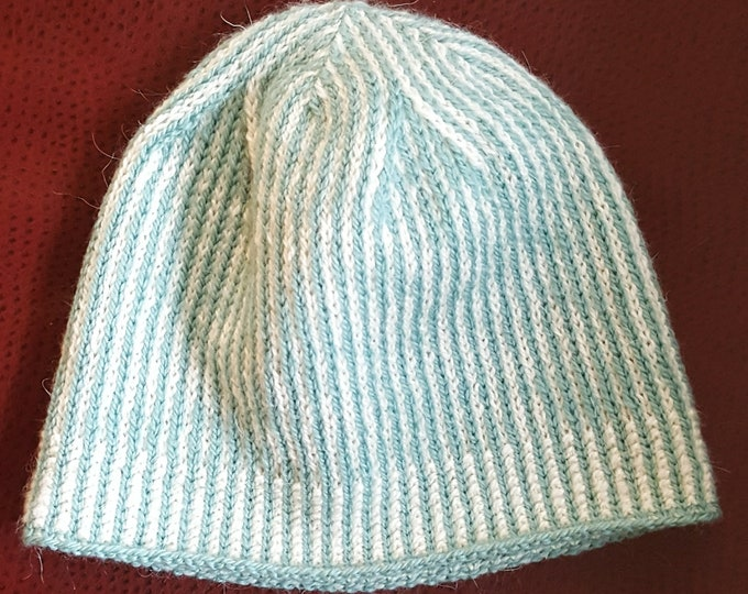 Instant Download Knitting Pattern For Scandinavian Fair Isle Colorwork Winter Hat