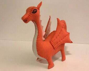 Felt Dragon Pattern