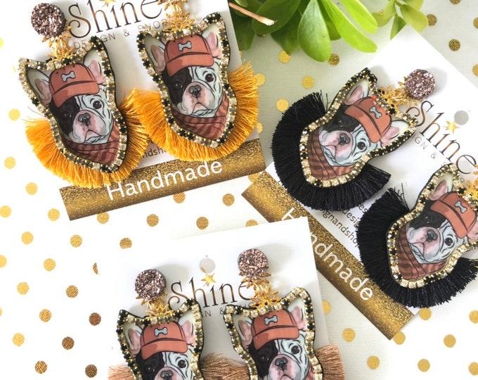 Mr. Puppy earrings