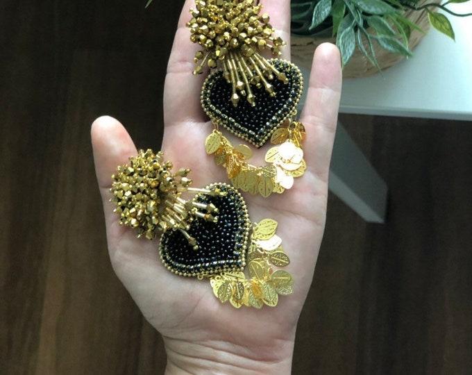 Luxury Hearts earrings