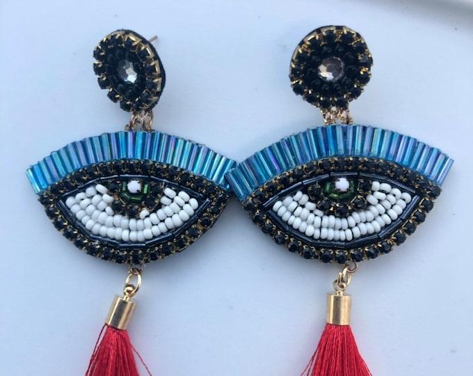 Evil eye handmade