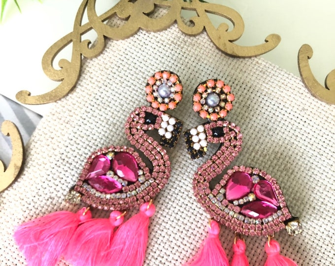 Flamigo earrings