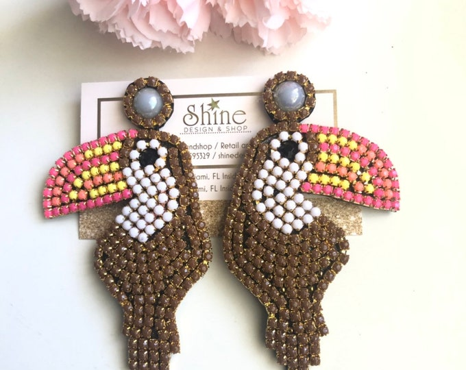 Tucan earrings