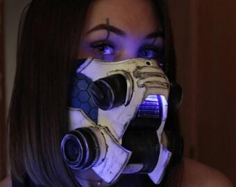 Cyberpunk face mask