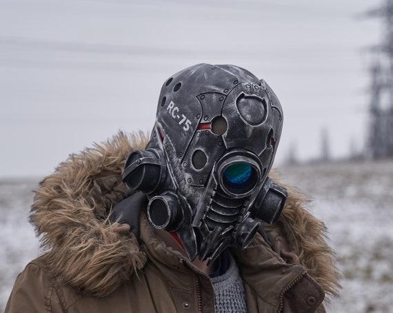 Cyberpunk mask robot mask Glow mask