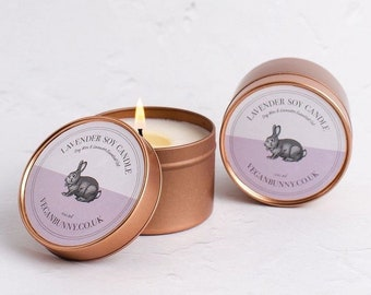 Lavender candles - Eco friendly & vegan stocking