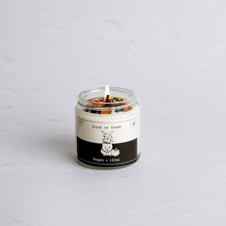 Halloween decor candles  Eco-friendly & vegan gift image 1