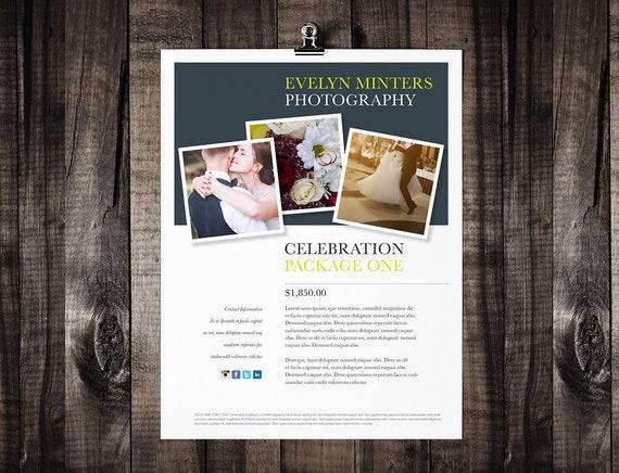 Druckbare Broschüre Vorlagendesign Flyer Vorlage | Etsy