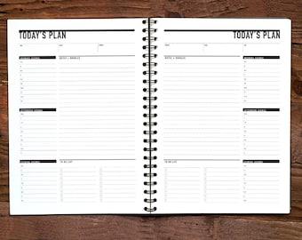 Printable Daily To Do List, Daily Agenda Planner, Printable To Do list, Student Agenda, Daily Action Plan, PDF Calendar Plan, Day Planner