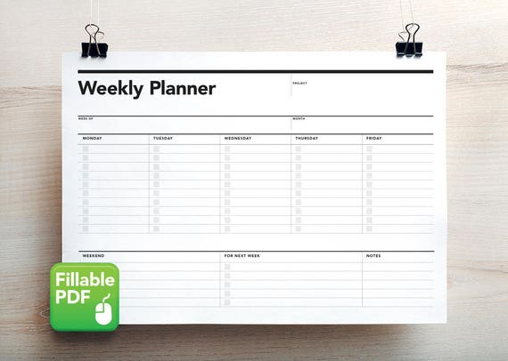 photo regarding Student Weekly Planner Printable referred to as Fillable Weekly Planner, College student Program, PDF, Printable Toward Do record, Weekly Program, Weekly Stage Application, Scholar Planner, Task Planner