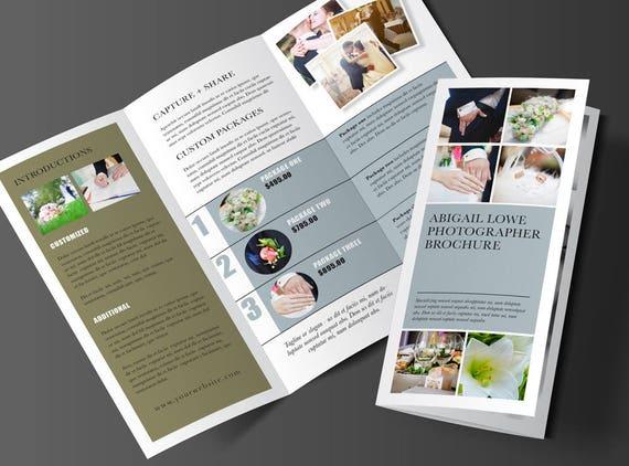 Trifold Broschüre Design Rack Broschüre Vorlage