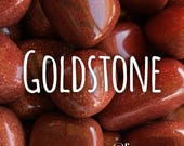 Thumbled Goldstone