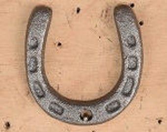 Tiny Horseshoe, metal horseshoe, horse shoe, pony shoe, lucky horseshoe, luck, good luck, mine horseshoe