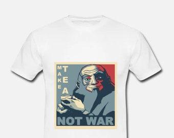 """Iroh Avatar """"Make Tea not War"""" T-shirt"""