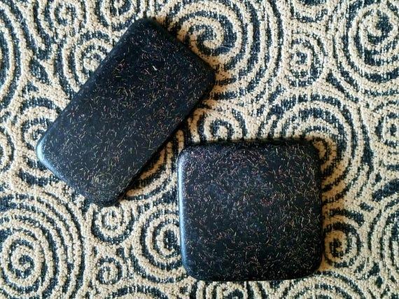 EMF Shield for Cell Phone Case - Orgonite® Protection Sticker -  Wifi Radiation Blocker - Black Sun Orgone Medium Rectangle or Square Button
