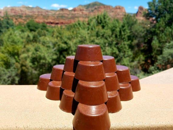 Orgonite® Tower Buster, Red Rock Sedona Vortex Pucks, Orgone Generator®, EMF Protection, Chakra Healing, Reiki, Zen Meditiation Mini TB Gift