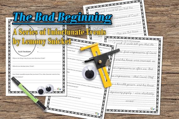 bad beginning book report