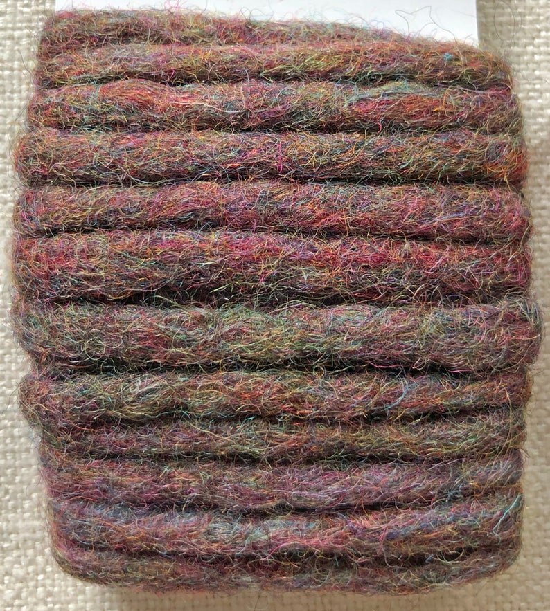 Felted Rope Rich Earth