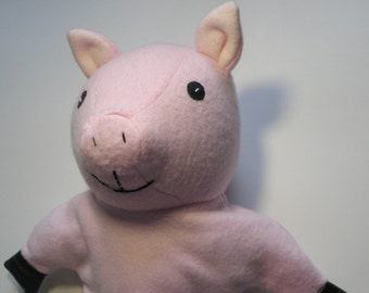 Pig Puppet Pattern