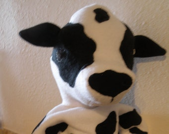 Cow Puppet Pattern
