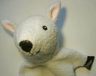 Lamb Puppet Pattern