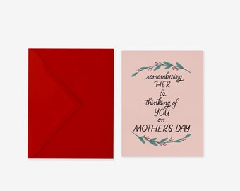 Mother's Day Sympathy Greeting Card