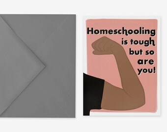 Homeschool Encouragement Card