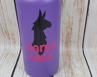 Llama Face decal for flask,yeti,waterbottle