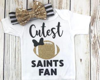 {Cutest Saints Fan}