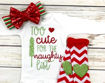 {Too Cute For The Naughty List}