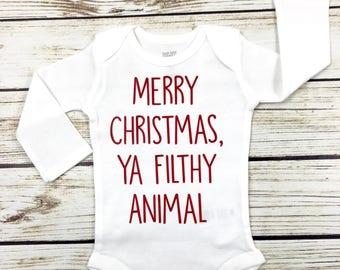 Merry Christmas, Ya Filthy Animal}