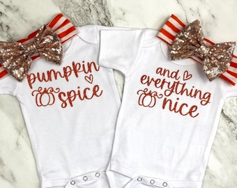 {Pumpkin Spice and Everything Nice} Twins