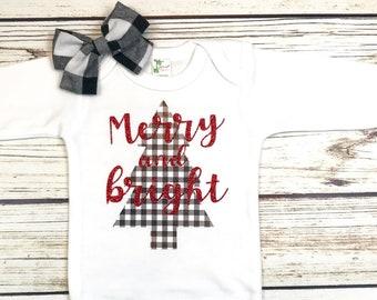 {Merry and Bright Buffalo Plaid}