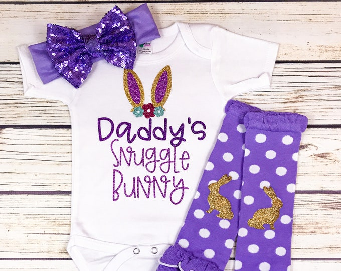 Featured listing image: {Daddy's Snuggle Bunny}