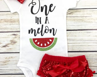 One In A Melon {Red}