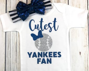reputable site c6372 cc08d Yankees baby | Etsy