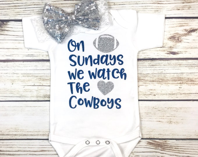 Featured listing image: {On Sundays We Watch The Cowboys}