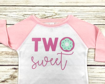 Two Sweet Donut Raglan
