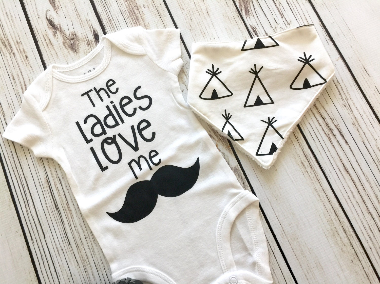 bcb83da8a The Ladies Love Me Baby Boy Bodysuit
