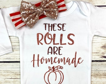 {These Rolls Are Homemade}