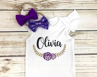 {Newborn Baby Girl Custom Name}