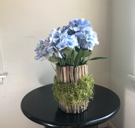 Flower Vase Driftwood Vase Wood Vase Wedding Vase Rustic Etsy