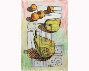 Pears, Oranges and Letters 2021