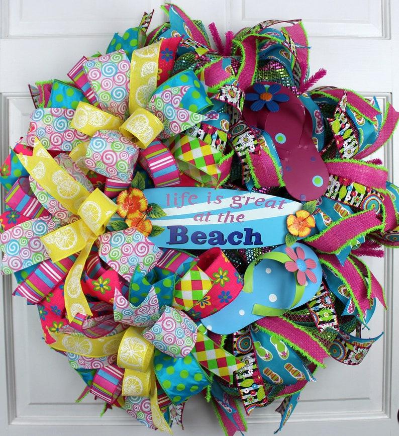 aea9bd42639db9 Flip Flop Wreath