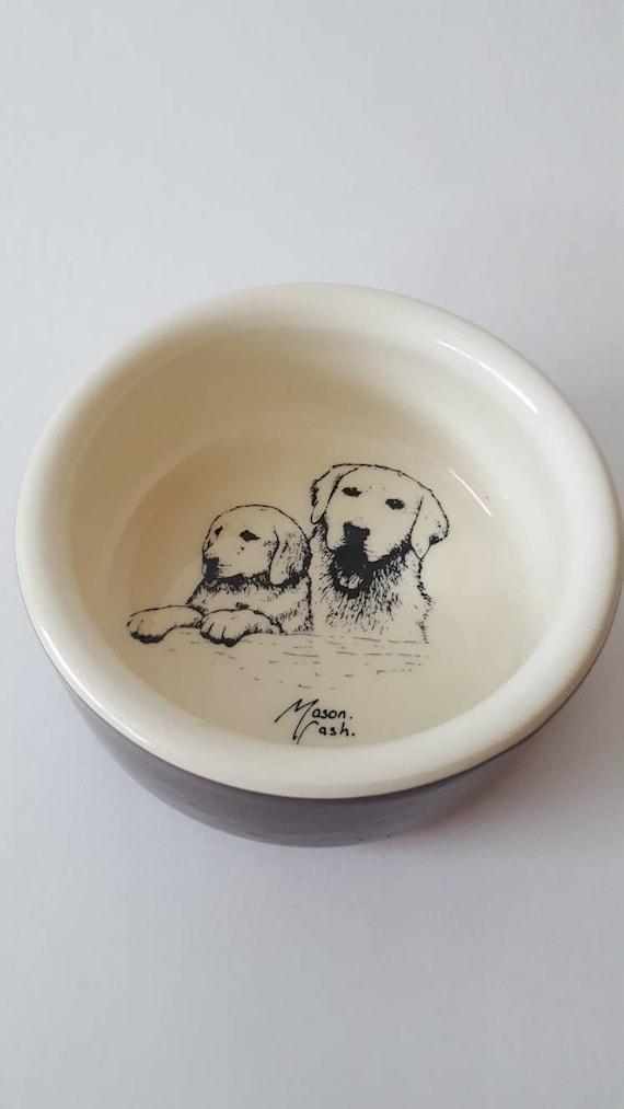 mason cash dog food bowl pet