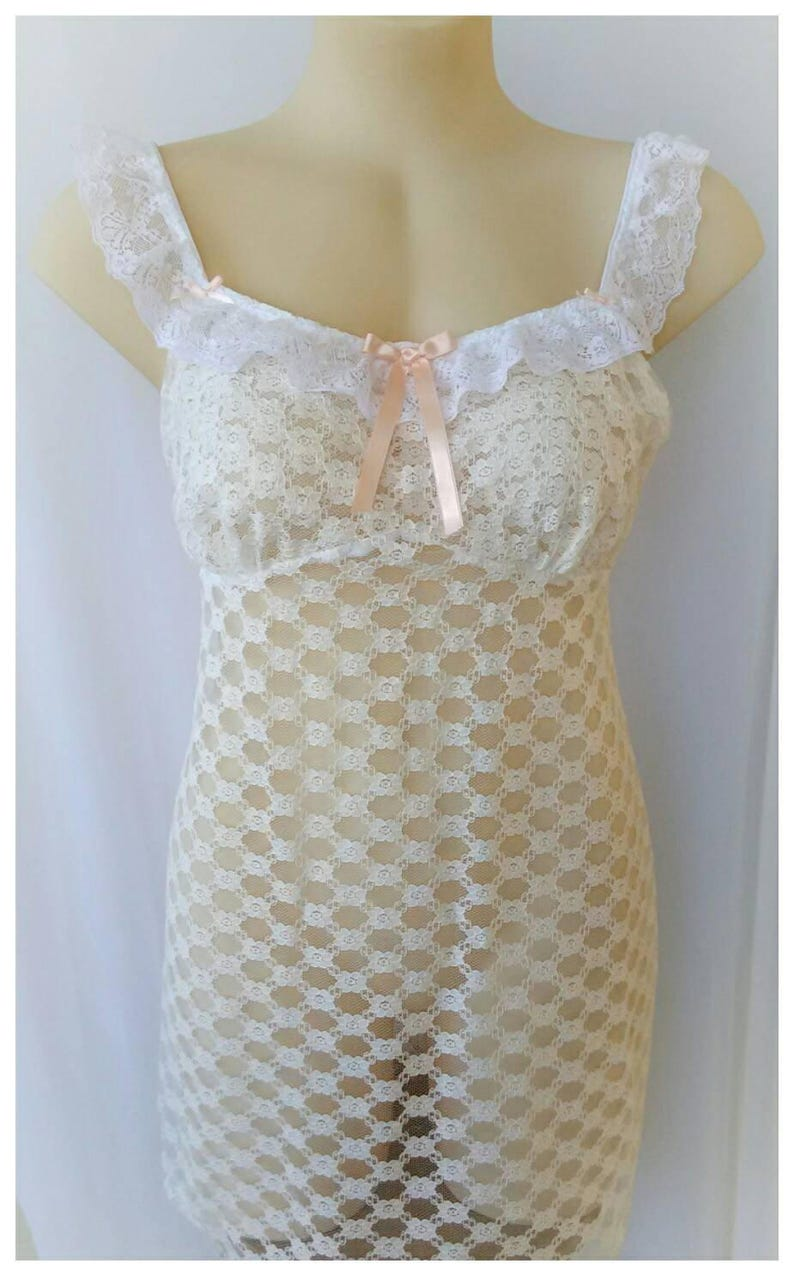 Vintage lace chemise