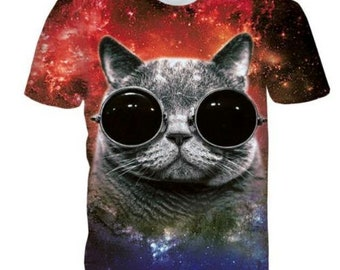 Hippy Cat T-shirt