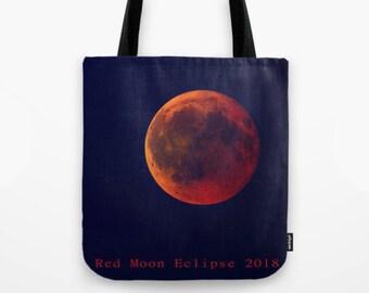 Tote Bag - Eclissi di luna