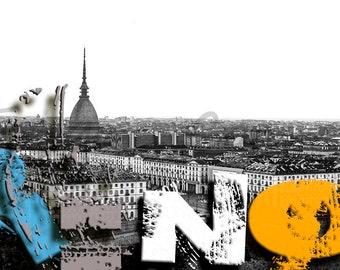 Fotoquadro Torino art