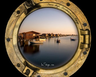 Photo Frame Round | Porthole: Scardovari Bag